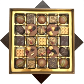 25 Luxury Chocolates By Cocoa Amore