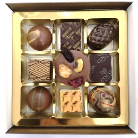 9 Luxury Chocolates by  Amore